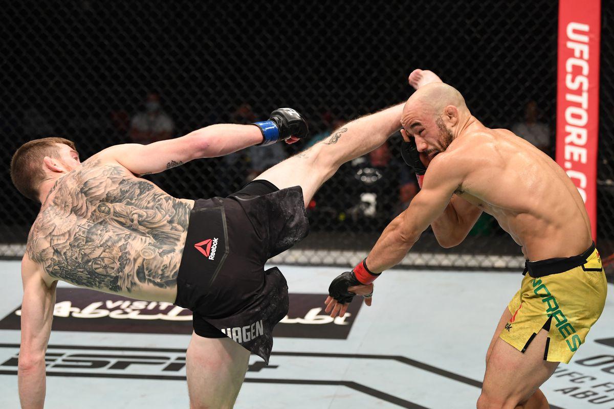 Marlon Moraes Speaks On UFC Fight Island 5 Loss | FIGHT SPORTS
