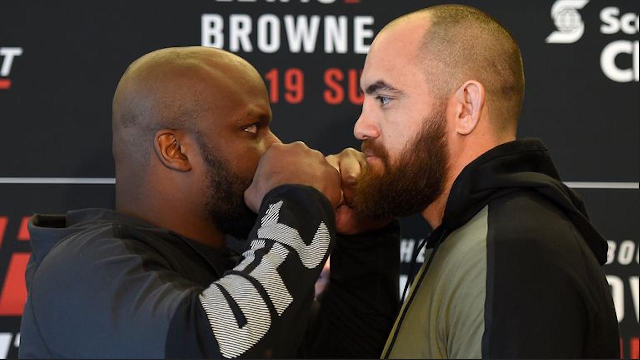 WATCH: UFC Fight Night Halifax Weigh-In