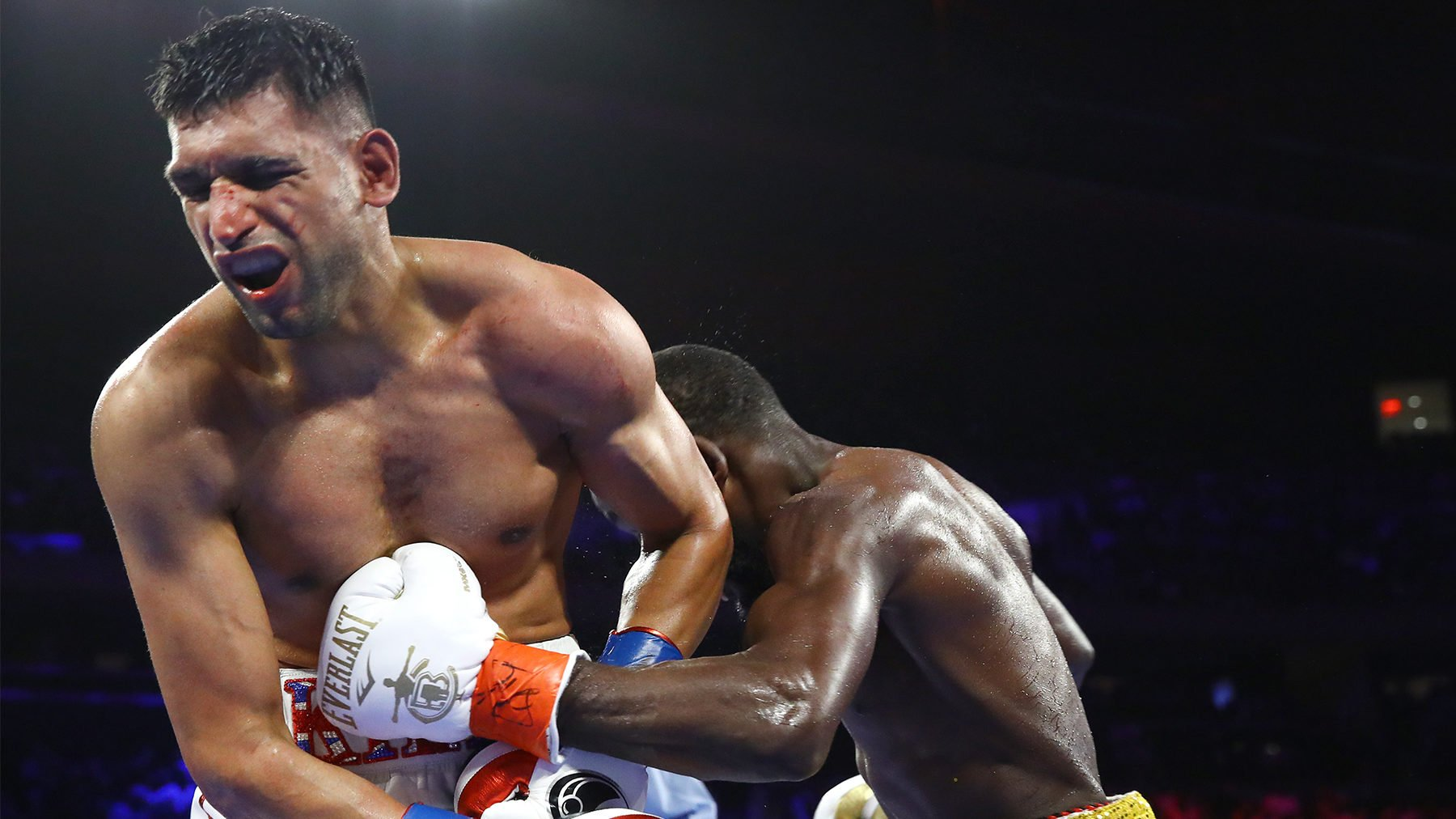 Khan Discusses After-Effects of Low Blow - Fit World Sport News