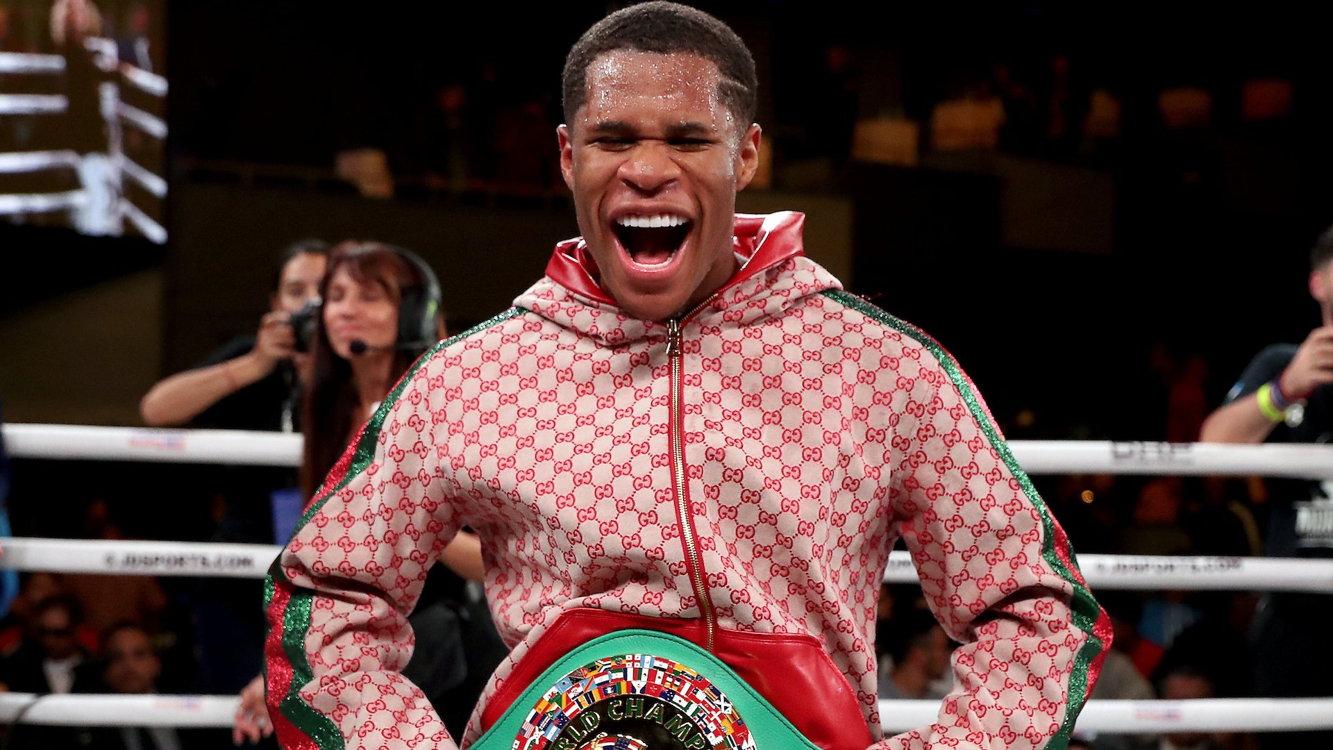 Devin Haney Makes Prediction For Ryan Garcia Vs Luke Campbell Fight Sports