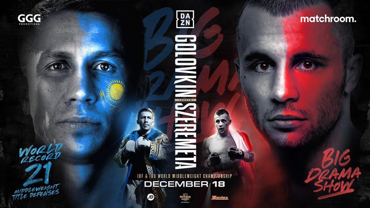 Watch Gennadiy Golovkin Vs Kamil Szeremeta 12/18/20