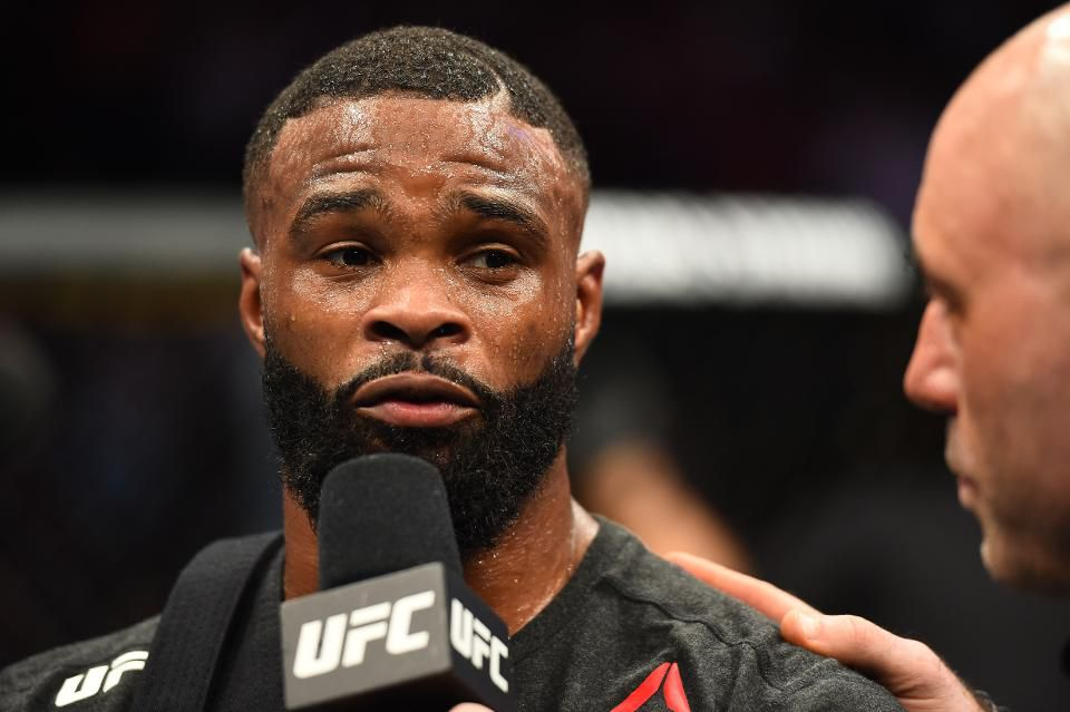 Are We Close To Seeing Tyron Woodley Vs Colby Covington Fight Sports