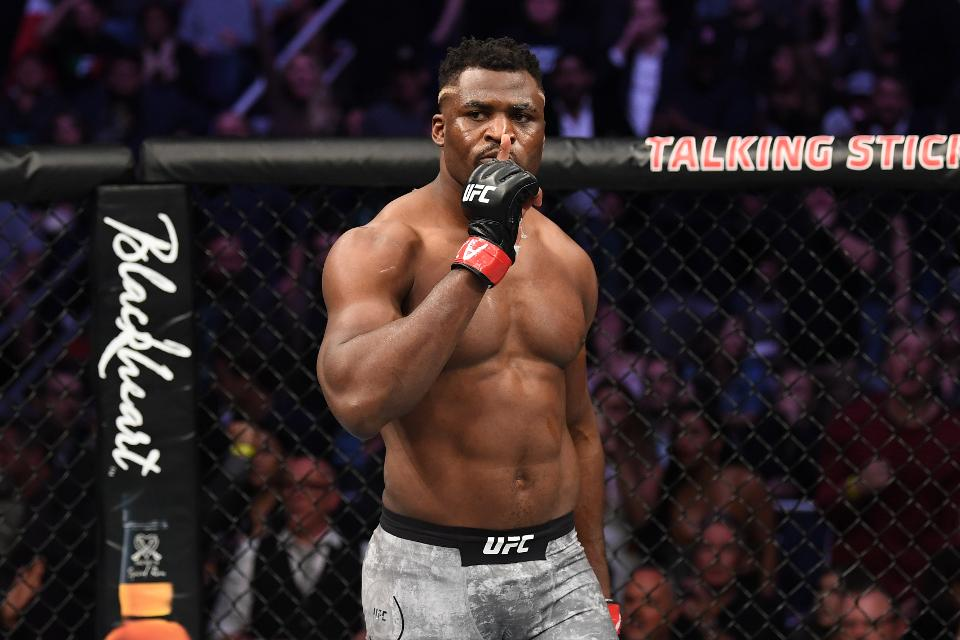 Francis Ngannou Is 'Very Interested' In Fighting Rumble Johnson | FIGHT SPORTS