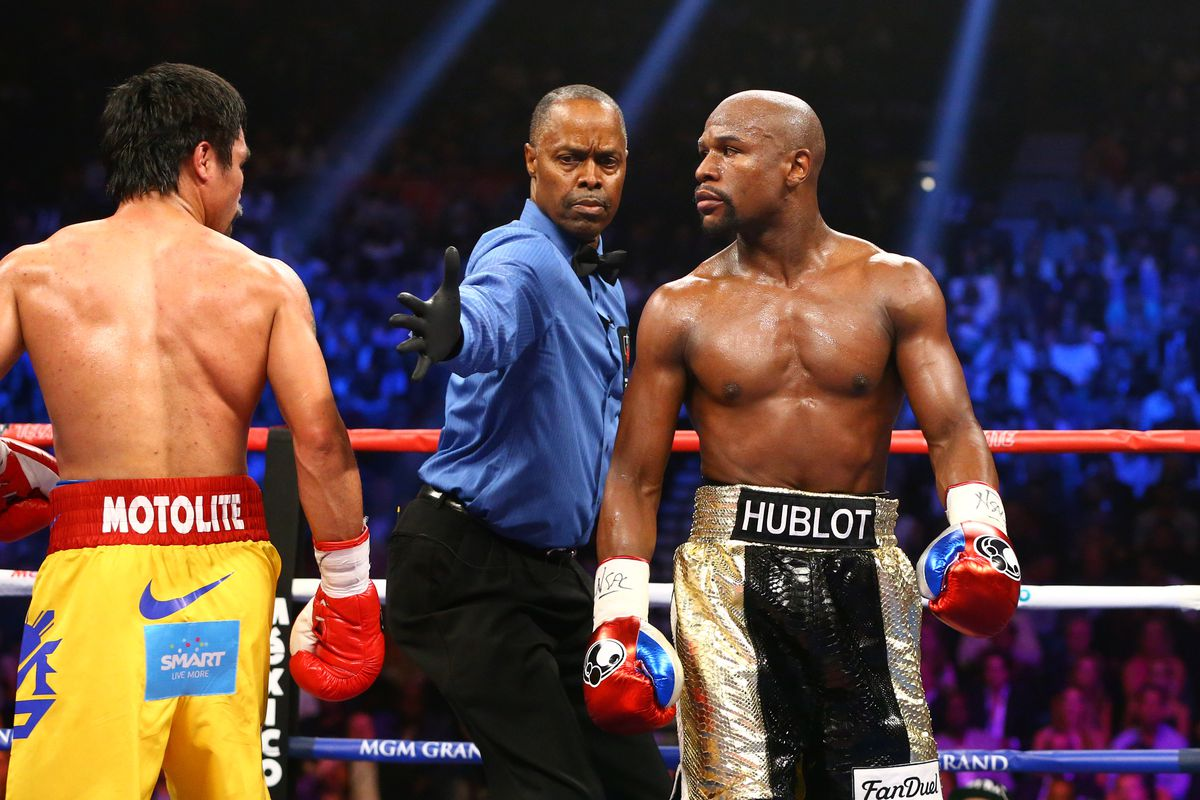 Fighting Words Floyd Mayweather On The Difference Between Him And Manny Pacquiao Fight Sports
