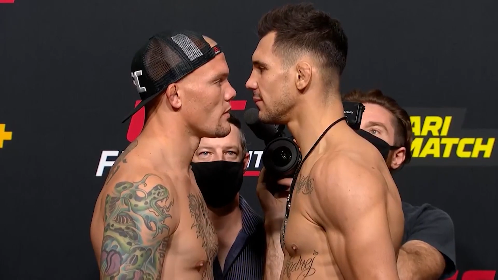 Watch Ufc On Espn 33 Weigh In Staredowns Fight Sports