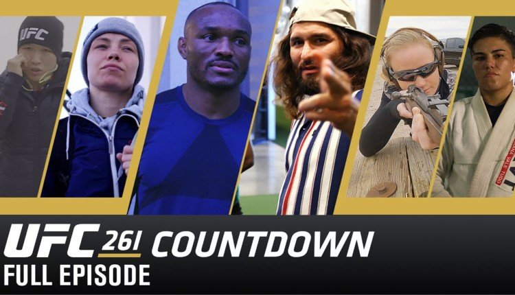 UFC 261 Countdown