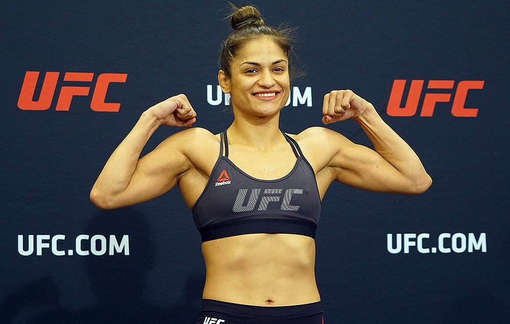 Calvillo One Of Two To Miss Weight For Ufc Washington D C