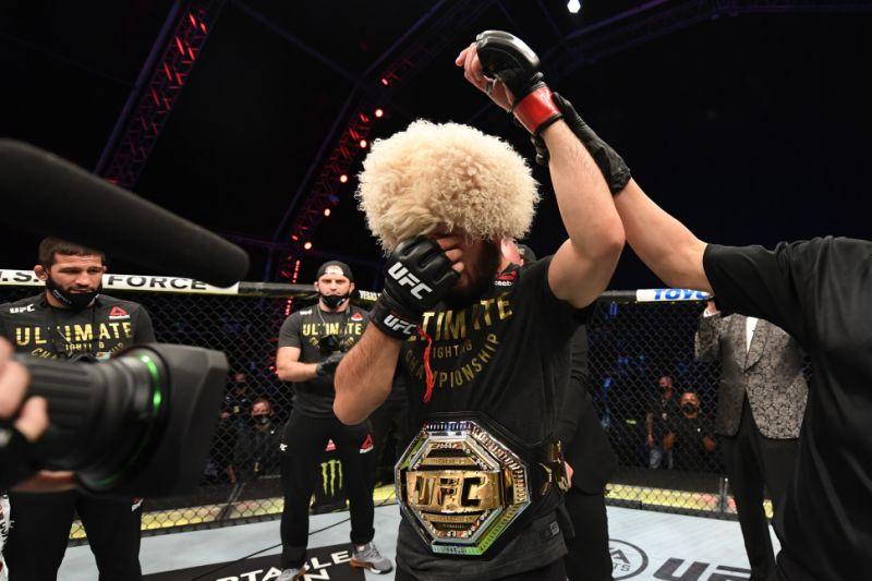 Khabib Nurmagomedov Responds To Being Number One Pound-For-Pound UFC Fighter   FIGHT SPORTS
