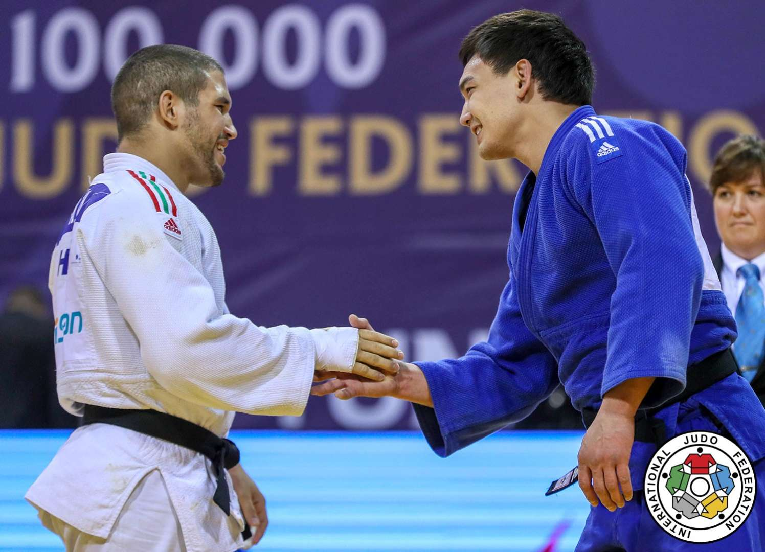 Judo Is All About Respect Fight Sports