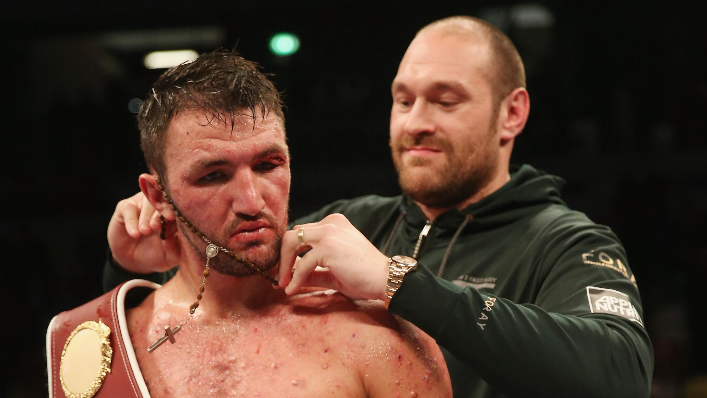 hughie fury believes he beat parker