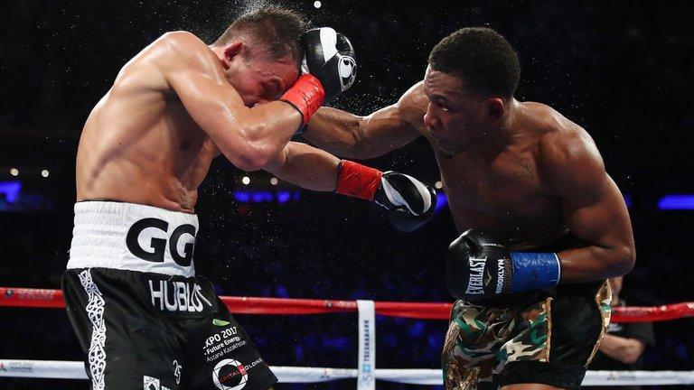 Hearn Feels Jacobs Beat Ggg Last Year Fight Sports